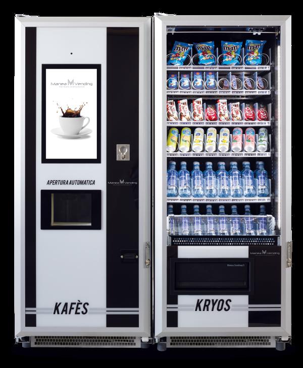 kávé automata kombinálva
